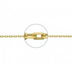 Collar dorado con inicial C