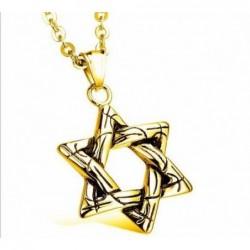 Collar estrella judía