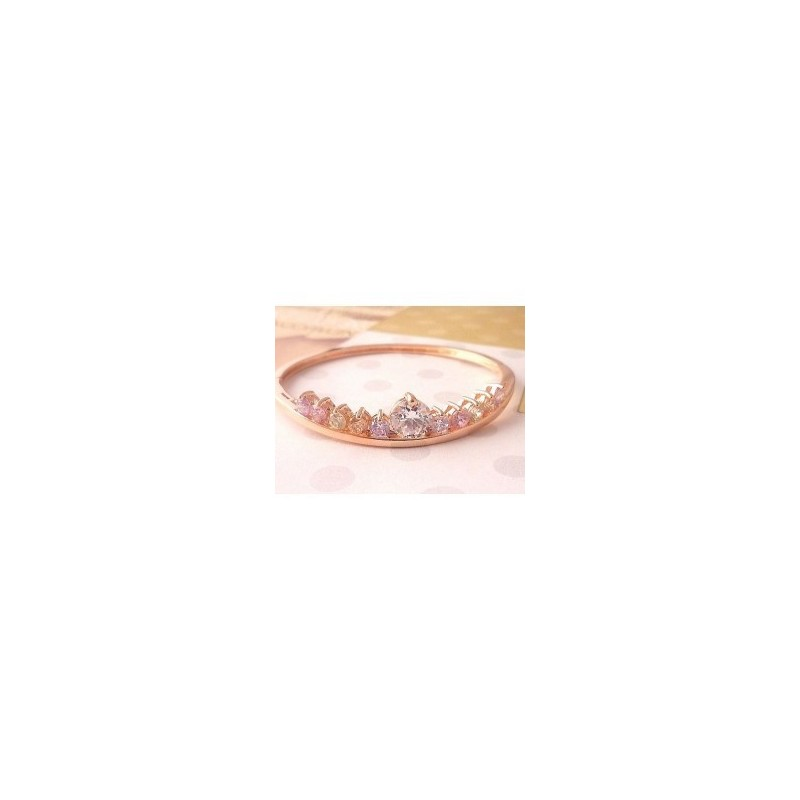 Pulsera gold filled Corona