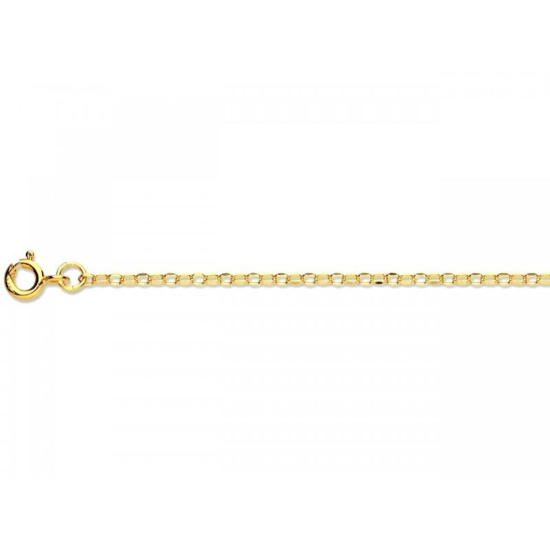 Cadena de oro 9k Serpiente 60cm