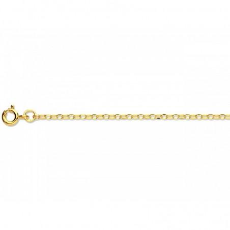 Cadena de oro 9k Rolo - 45cm-0,72gr