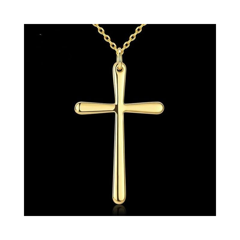 Collar con cruz Golden
