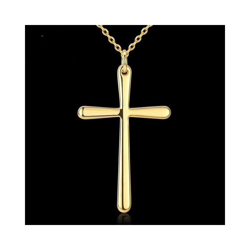 Collar con cruz Golden