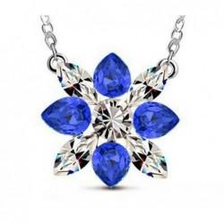 Collar con piedras La Flor Azul