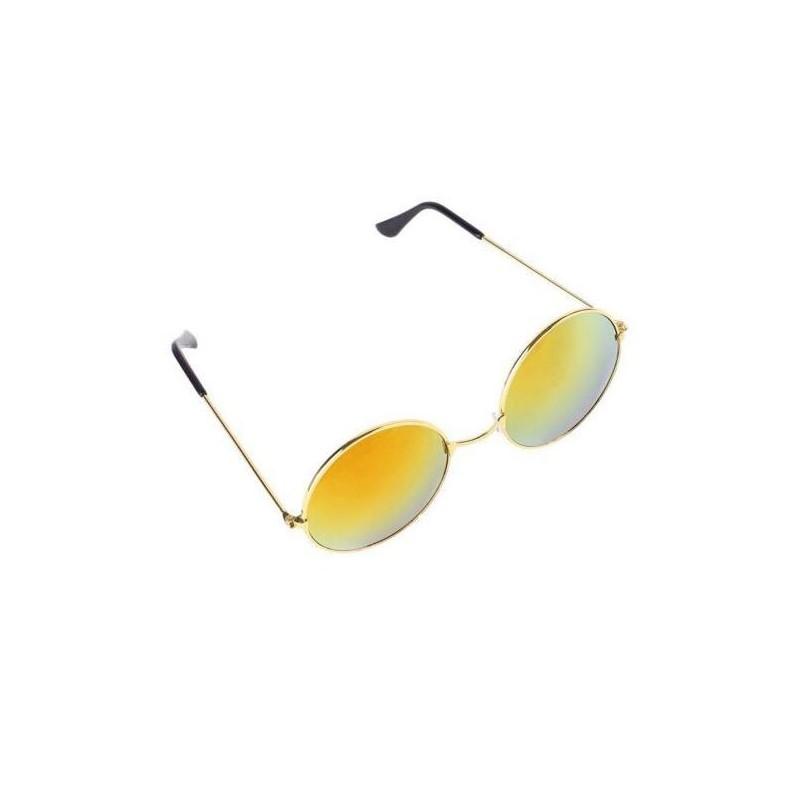 Gafas de sol unisex retro espejadas