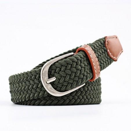 Cinturón elástico tramado unisex - 100-120 cm