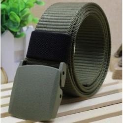 Cinturón estilo militar ajustable de nylon