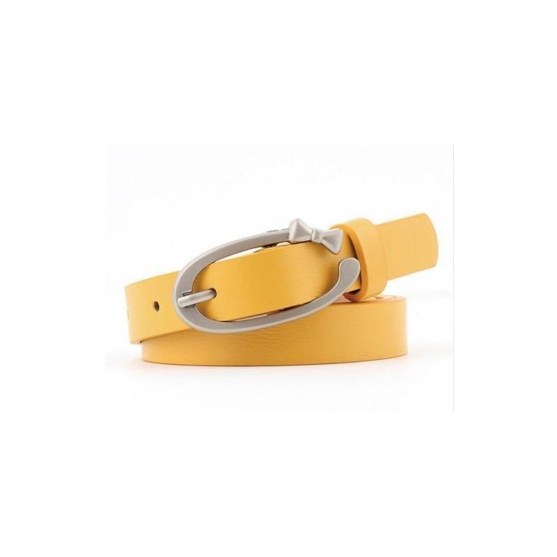 Cinturón amaillo para mujer - 103cm