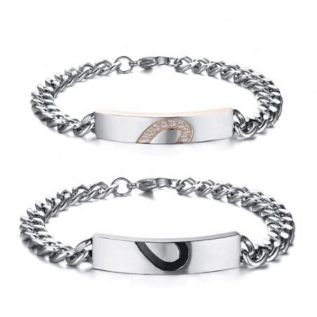 Set de pulseras para novios ( 2 )