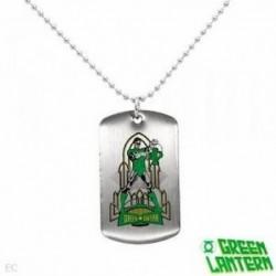 Collar Linterna Verde-Green Lantern original