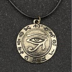 Collar con símbolo egipcio Ojo de Horus