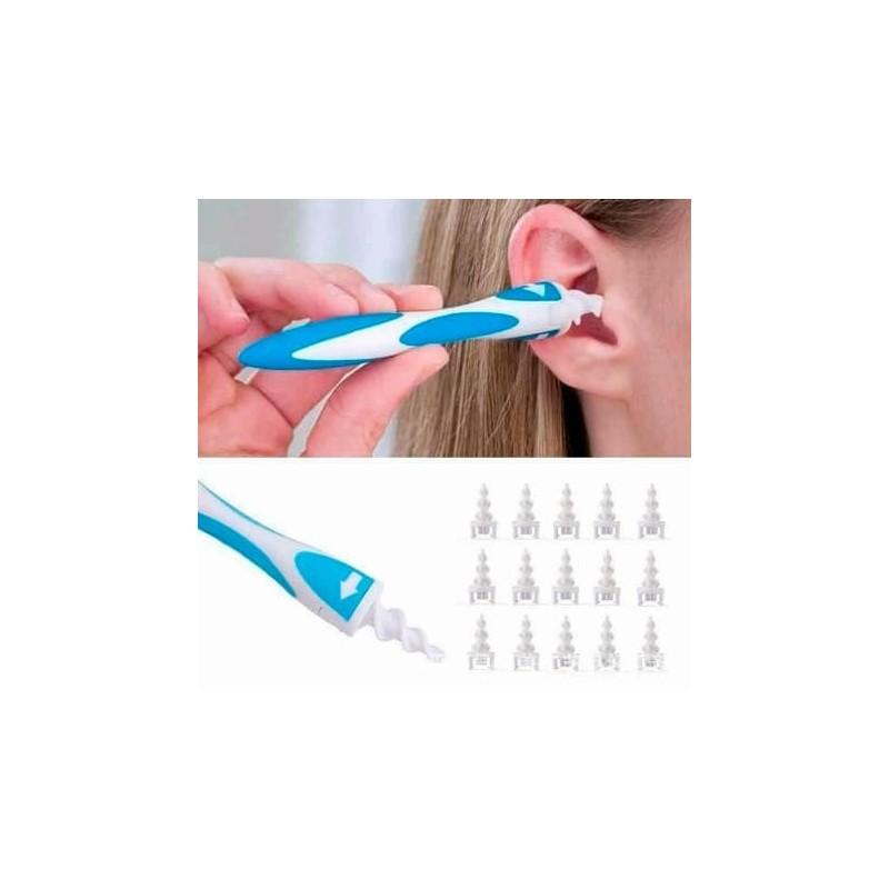 Bastoncillos de silicona para limpiar oídos