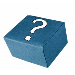 Caja misteriosa con bisutería barata