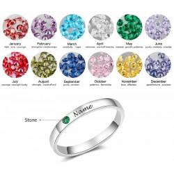 anillo de plata liso ancho