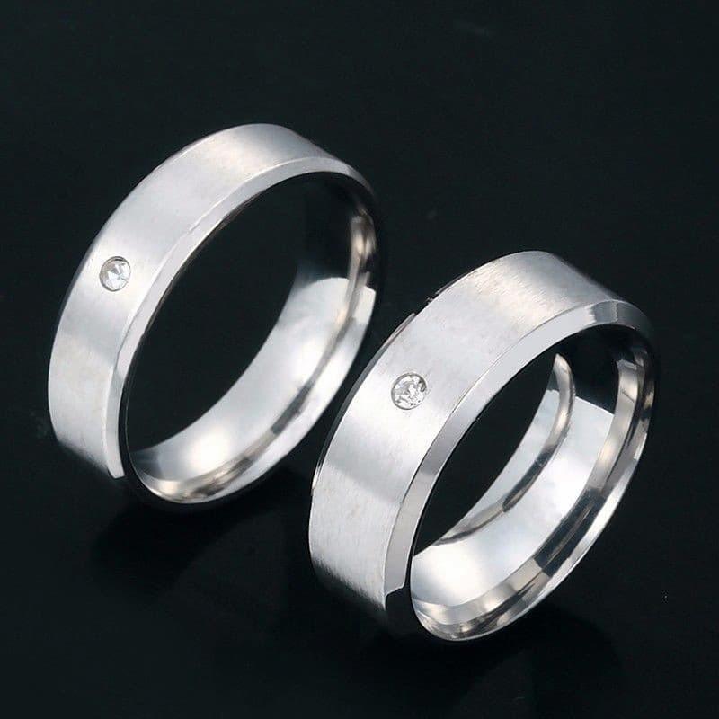 anillos de matrimonio lisos