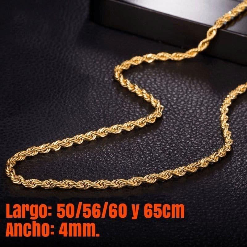 cadena dorada fina