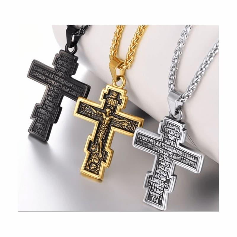 Colgante cruz ortodoxa