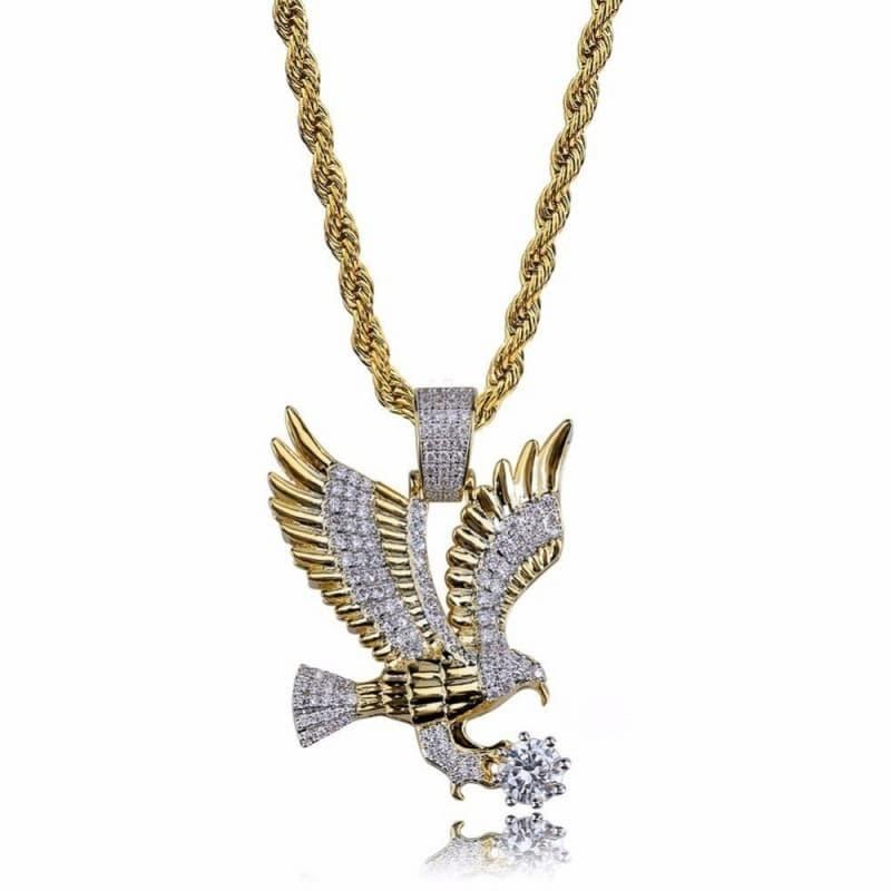 Collar águila americana