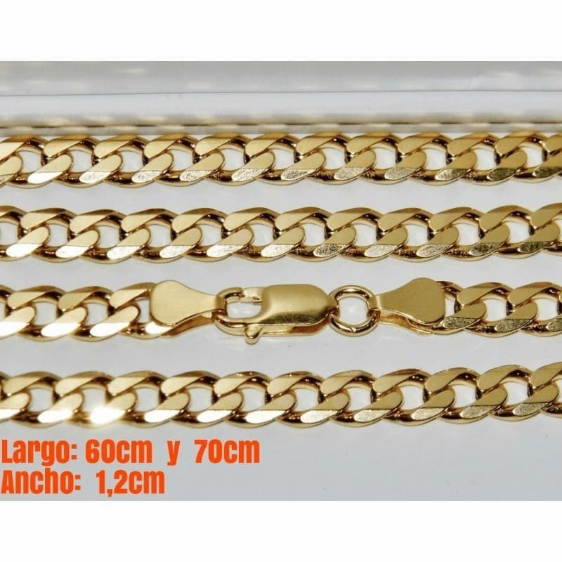 collar de eslabón dorado