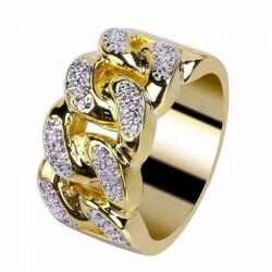 anillo eslabones hombres