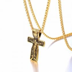 colgante cruz hombres