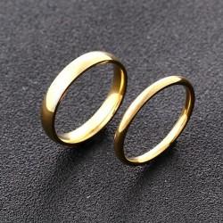anillos de boda media caña