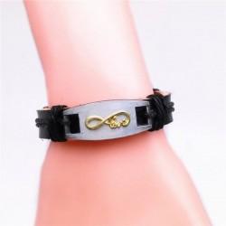pulseras de cuero para mujer