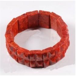 joyas de coral rojo