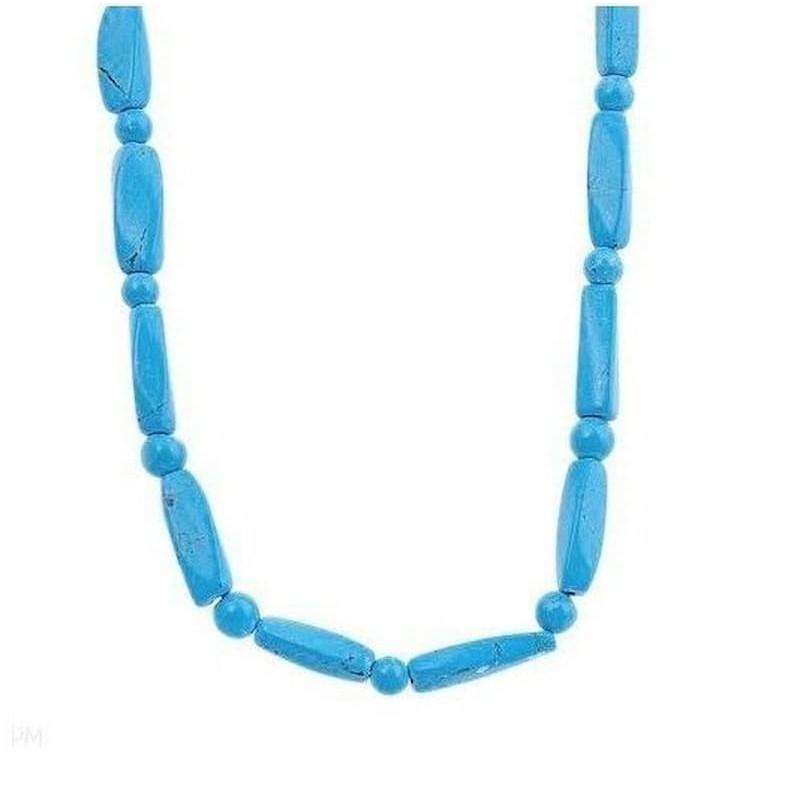 collares azules bisuteria
