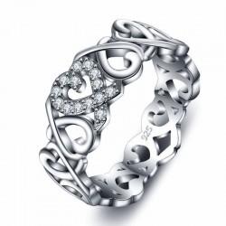 anillos de matrimonio plata 925