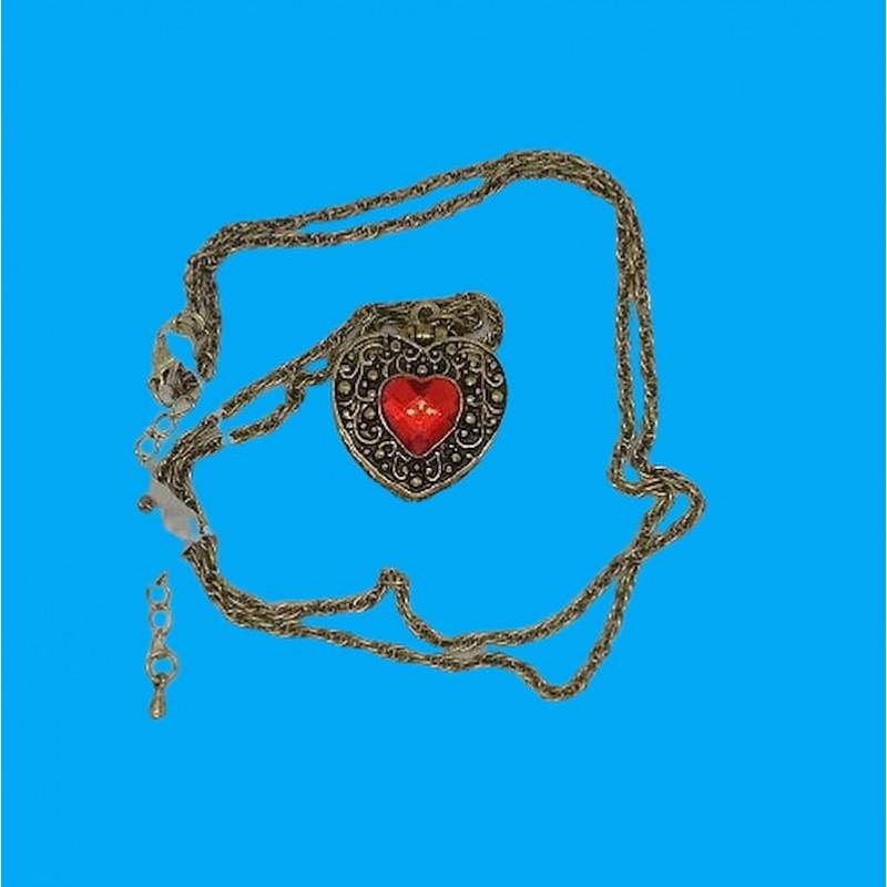 collar arabe rojo