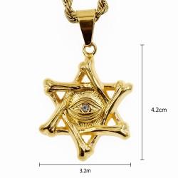 bisutería triangulo masonico