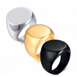 anillo redondo de sello