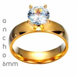 anillos de boda dorados en amazon