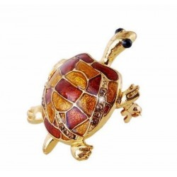 Broche con tortuga