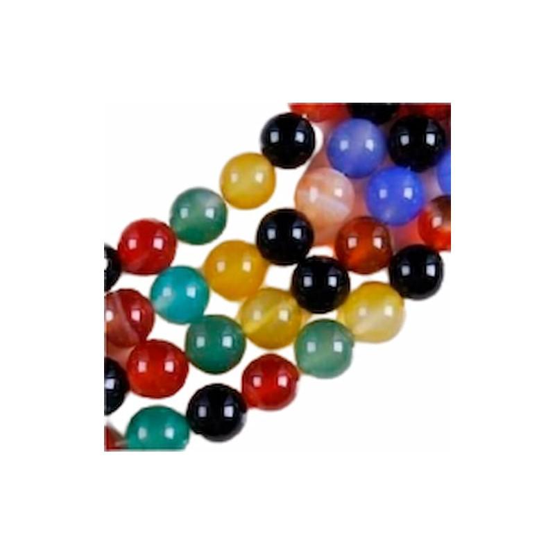 Piedras de colores para collares