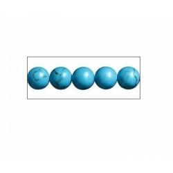 piedras para hacer collar azul