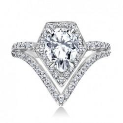 Colección de anillos de boda de Karl Lagerfeld