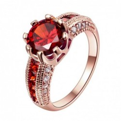 joyería-anillo de oro rosa