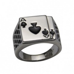 anillo de cartas de poker