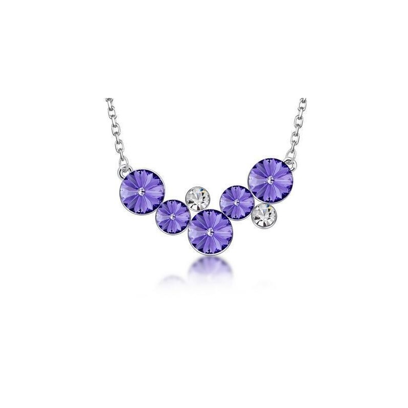 Collar Las 5 púrpuras