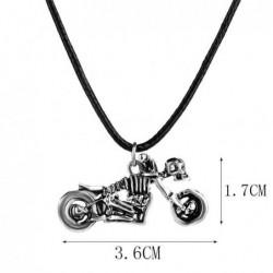 Collar  skuill unisex La Moto