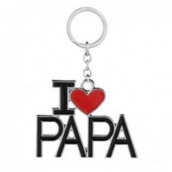 "Llavero ""I love papa"""