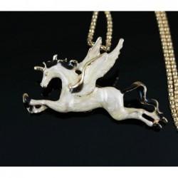 Collar/broche Pegasus