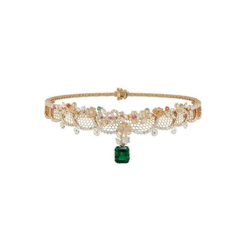 Alta joyería de Dior con  piedras preciosas