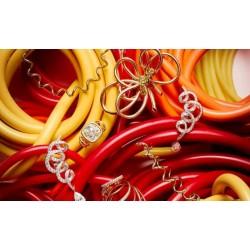 Piezas de oro trenzado: lo último en materia de joyería