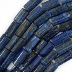 Hilo de lapizlázuli rectangular