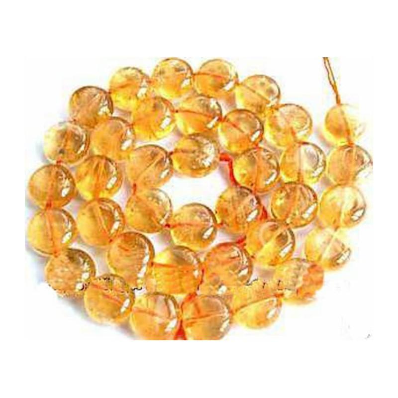 Hilo de piedras citrino de 12mm