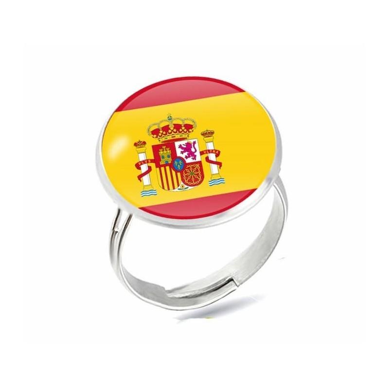 Anillo con la bandera de España